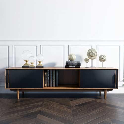 Tipos de muebles de TV de estilo nórdico